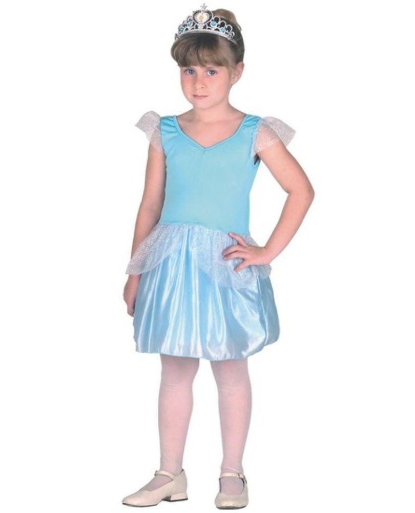 Fantasia Princesa Cristal Pop - Infantil