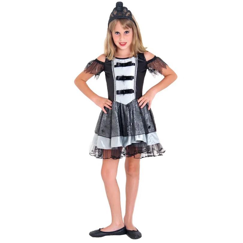 Fantasia Princesa do Mal Halloween Infantil