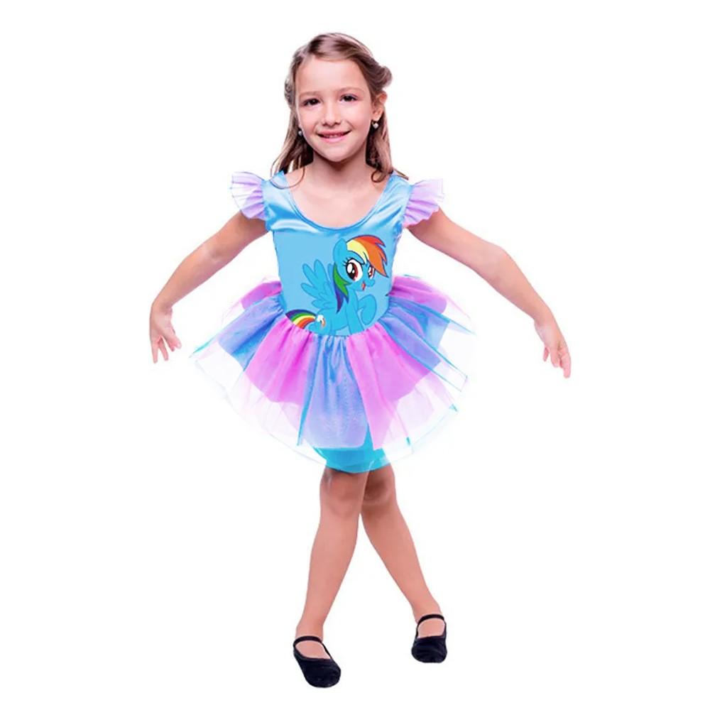 Fantasia Rainbow Dash - Pop - Infantil