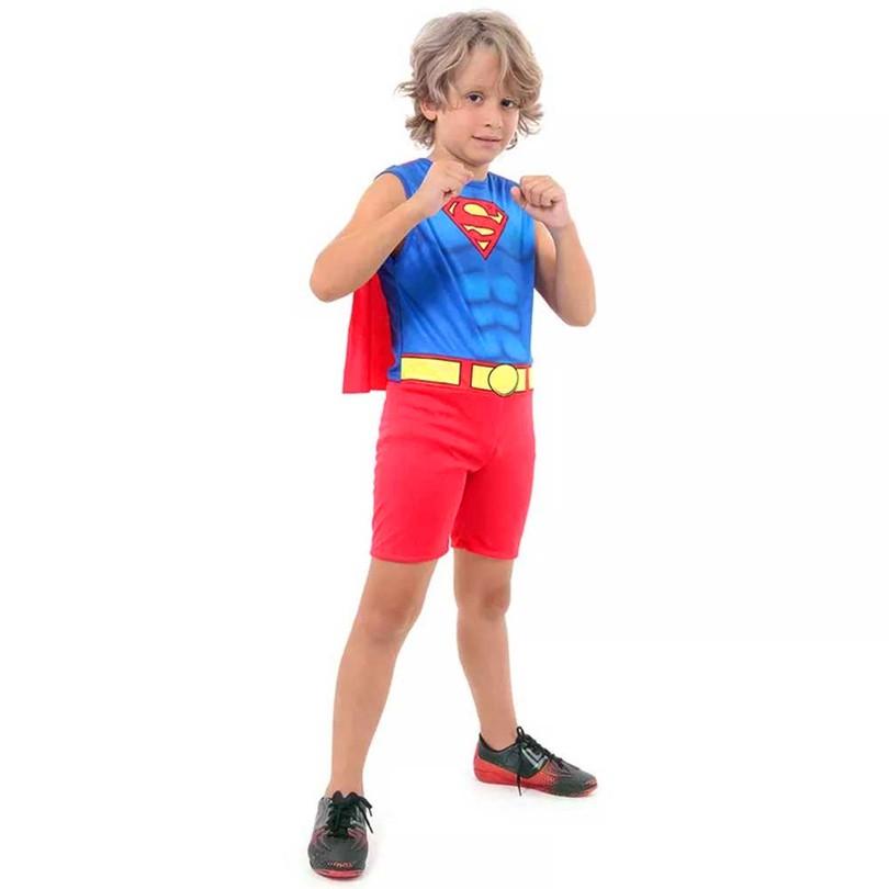 Fantasia Super Homem - Regata - Infantil