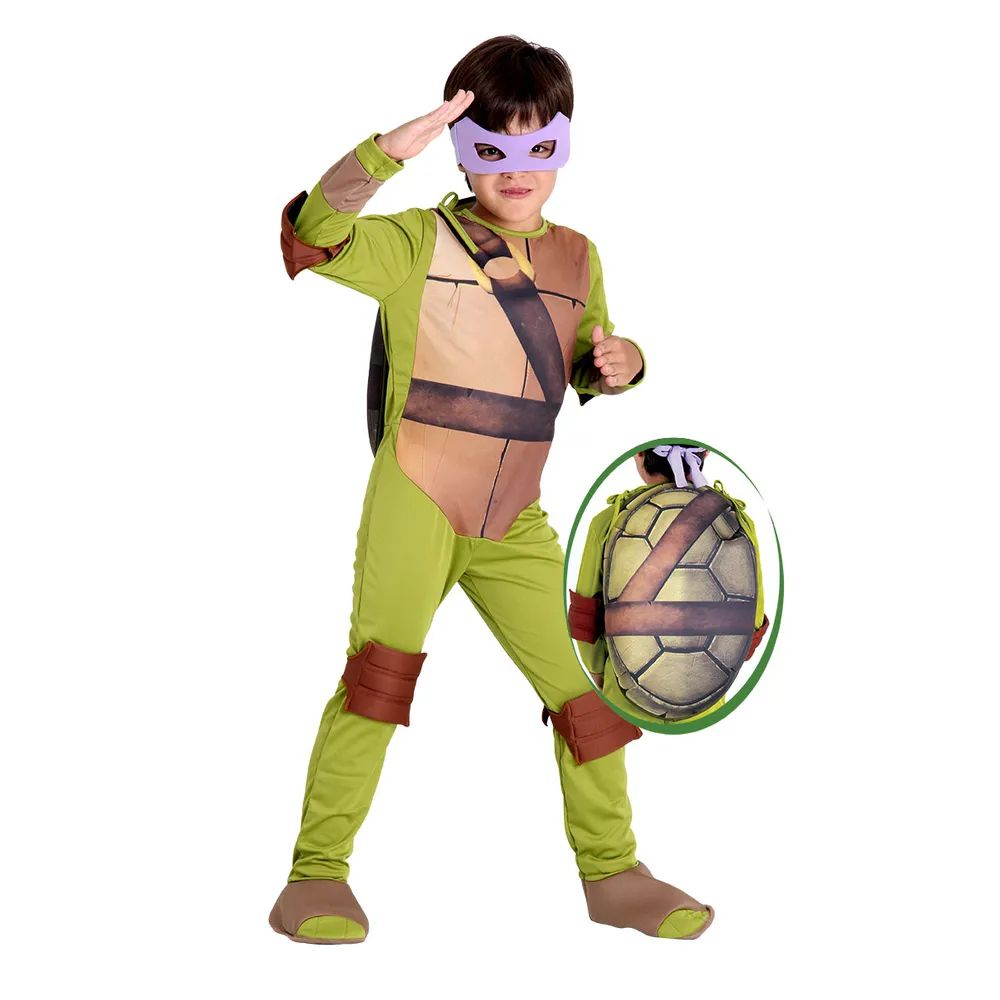 Fantasia Tartarugas Ninjas Donatello - Infantil