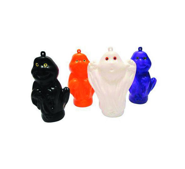 Mini Brinquedo Fantasminha de Plástico - 2 Unidades