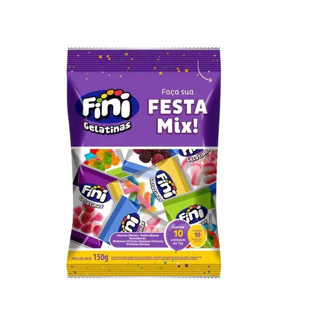 Gelatina Sortida Festa Mix Fini - 150g