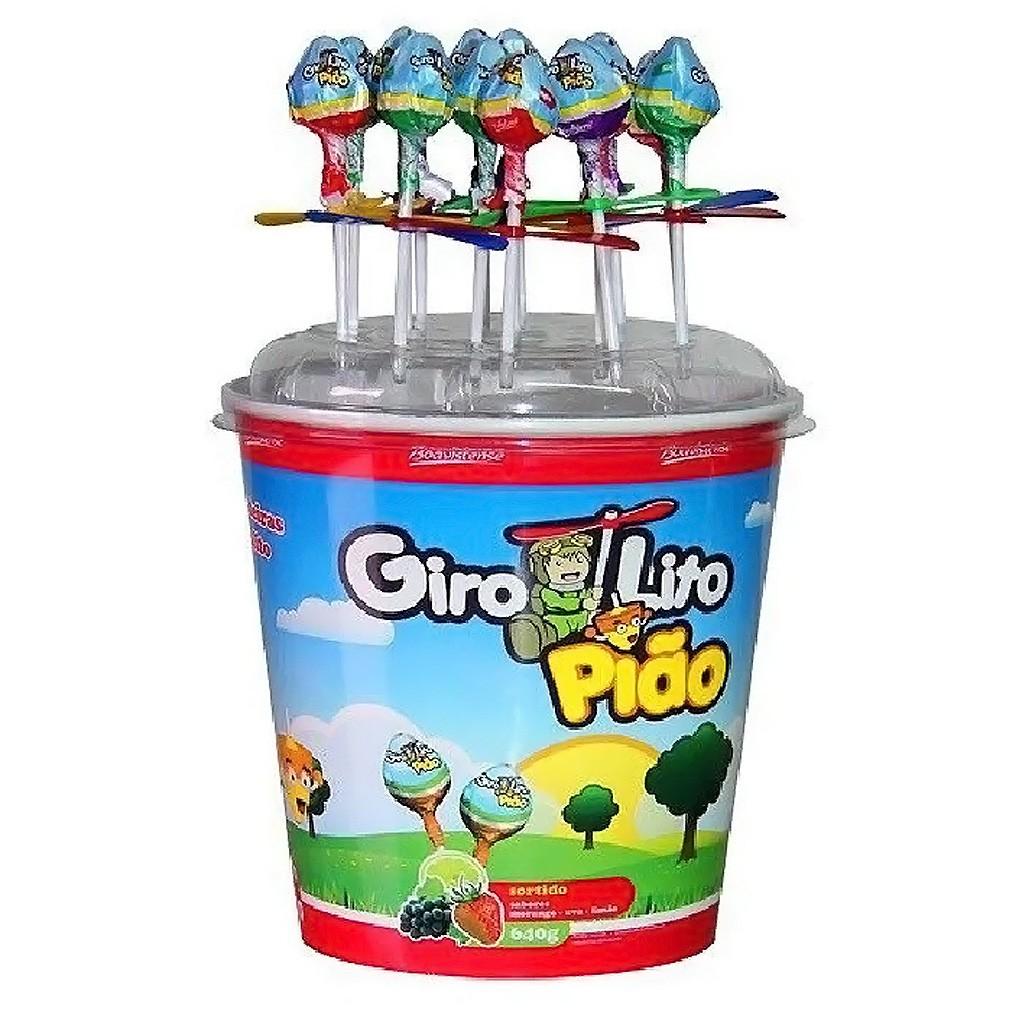 Girolito Pião - 640g - 80 Unidades