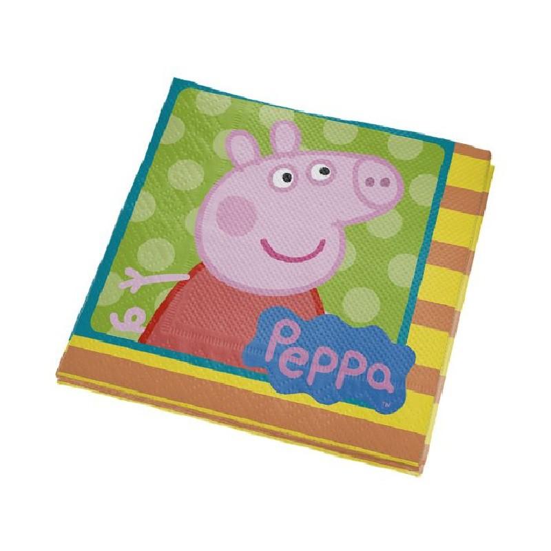 Guardanapo Peppa Pig - 16 unidades