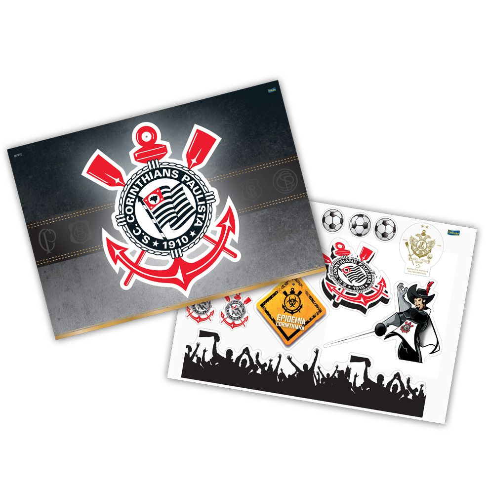 Kit Decorativo Corinthians