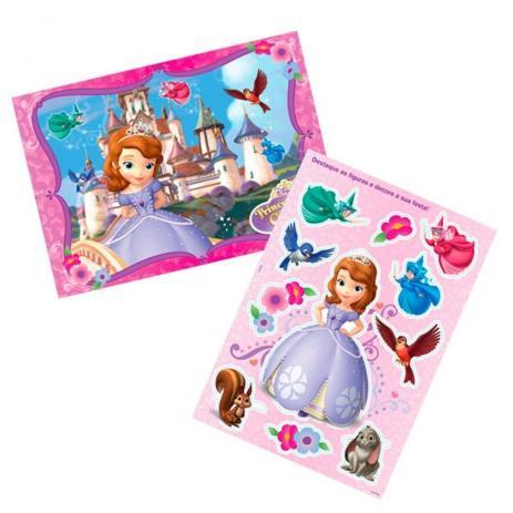 Kit Decorativo Princesa Sofia