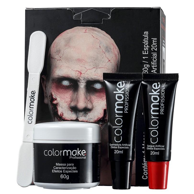Kit Maquiagem Artística para Efeitos Especiais