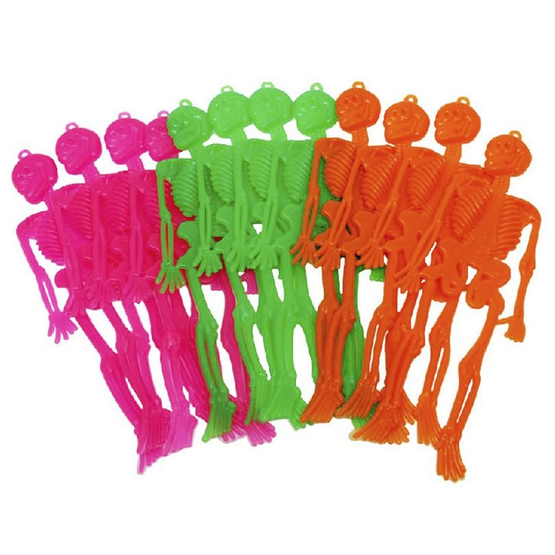 Kit Mini Esqueleto Neon - 12 Unidades