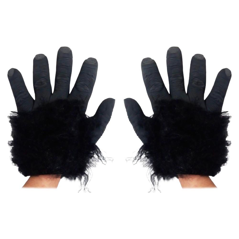 Luva em Látex Mãos de Gorila Realista