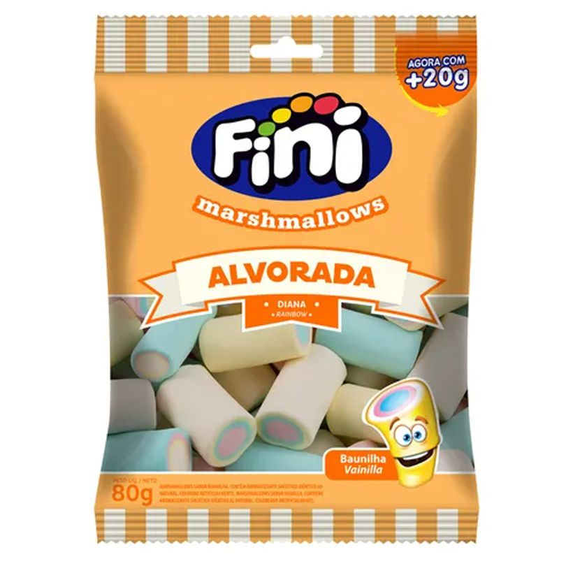 Marshmallow Fini Alvorada 80g