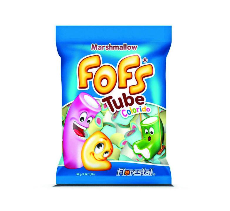 Marshmallow Fofs Tube Colorido
