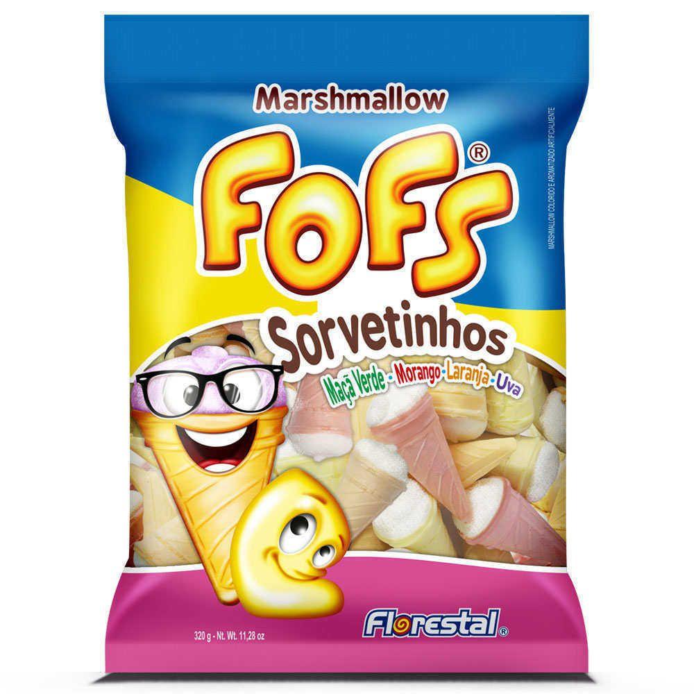 Marshmallows Fofs Sorvetinhos 320g