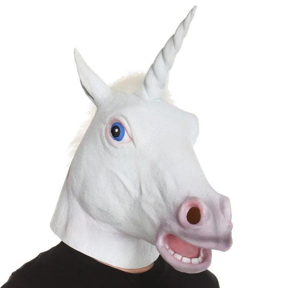 Máscara Cabeça de Unicórnio