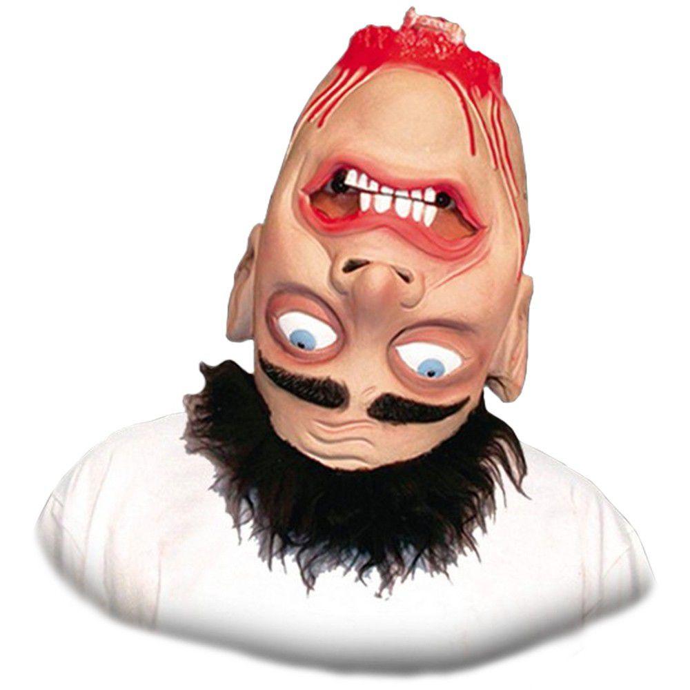 Máscara de Latex Cabeça Virada