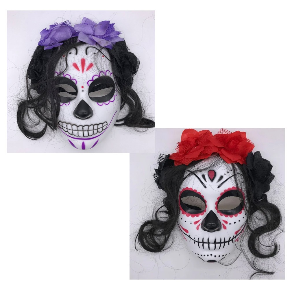 Máscara Caveira Mexicana Halloween