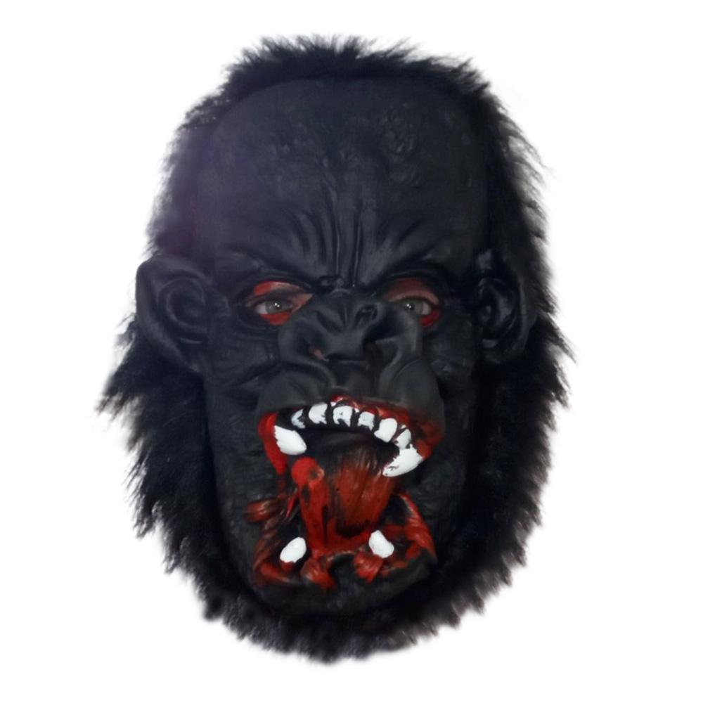 Máscara de Gorila - Acessório para fantasia