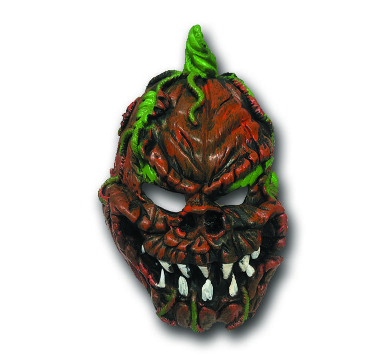 Máscara de Halloween - Monstro Abóbora