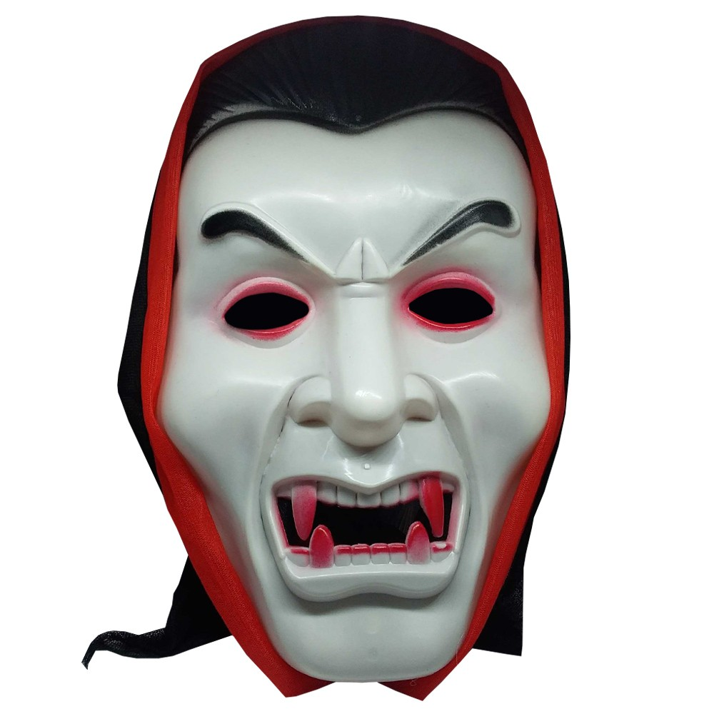 Máscara do Drácula com Capuz