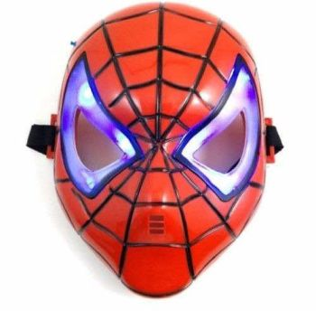 Máscara Homem Aranha com Luz