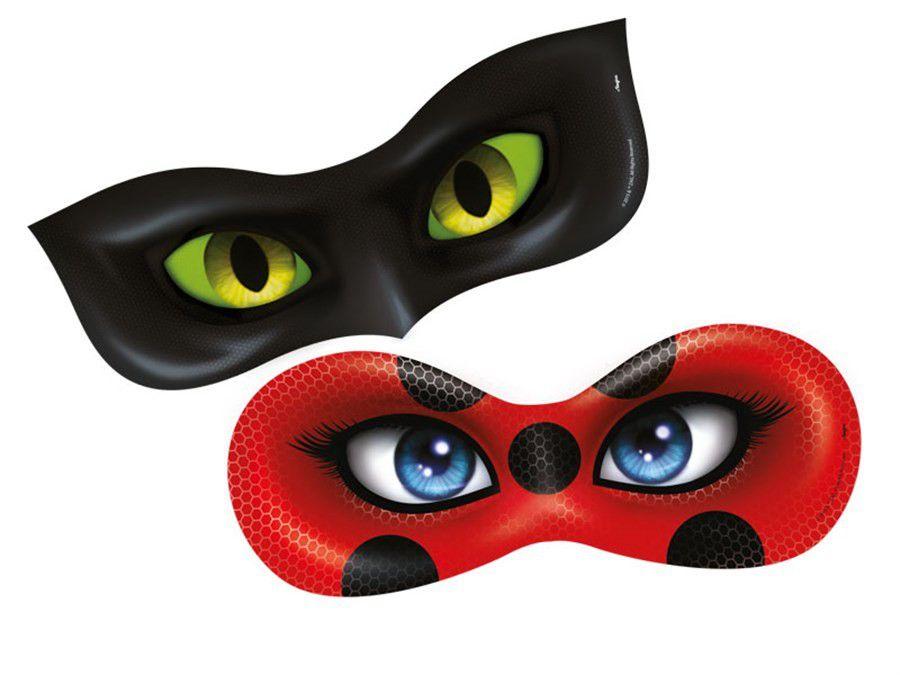 Mascara Ladybug - 06 unidades