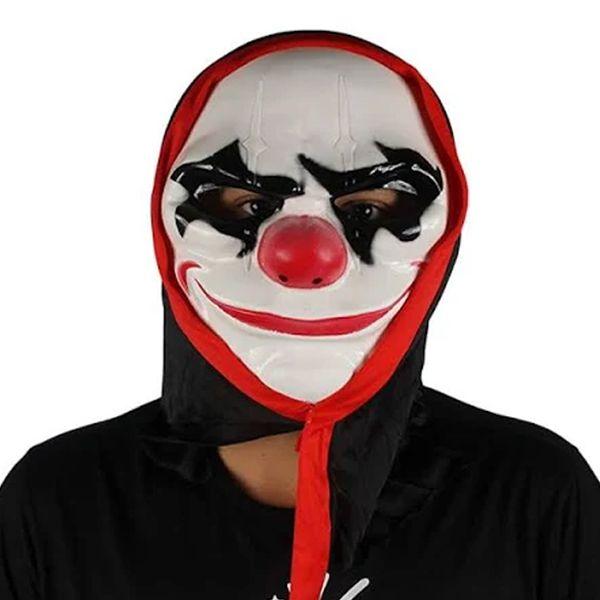 Máscara Palhaço Assustador c/ Capuz