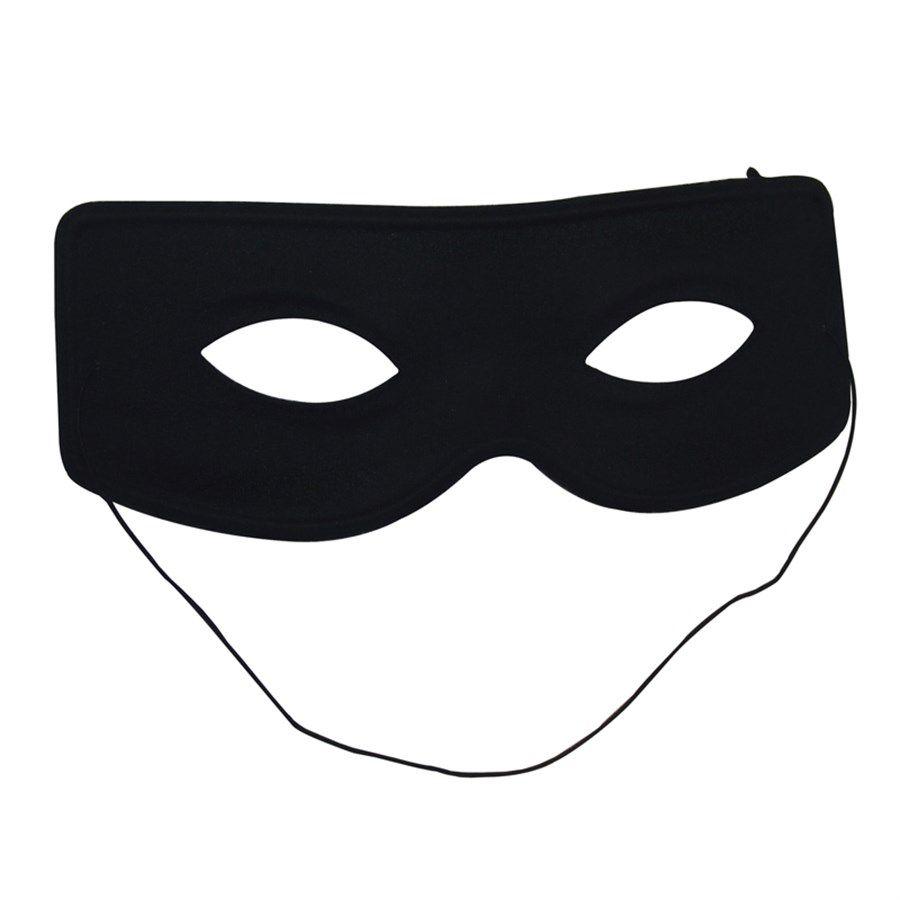 Máscara Plástica Preta