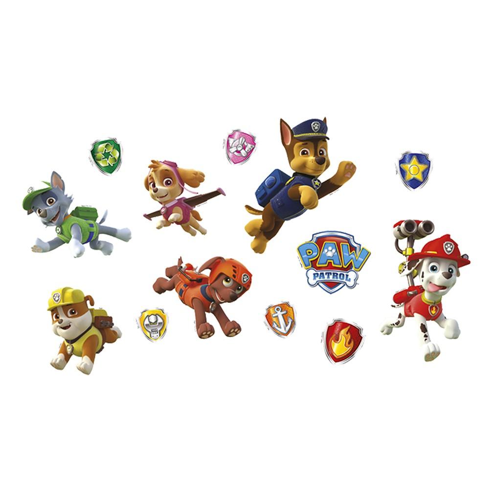 Mini Personagens Decorativos Patrulha Canina - 13 Unidades