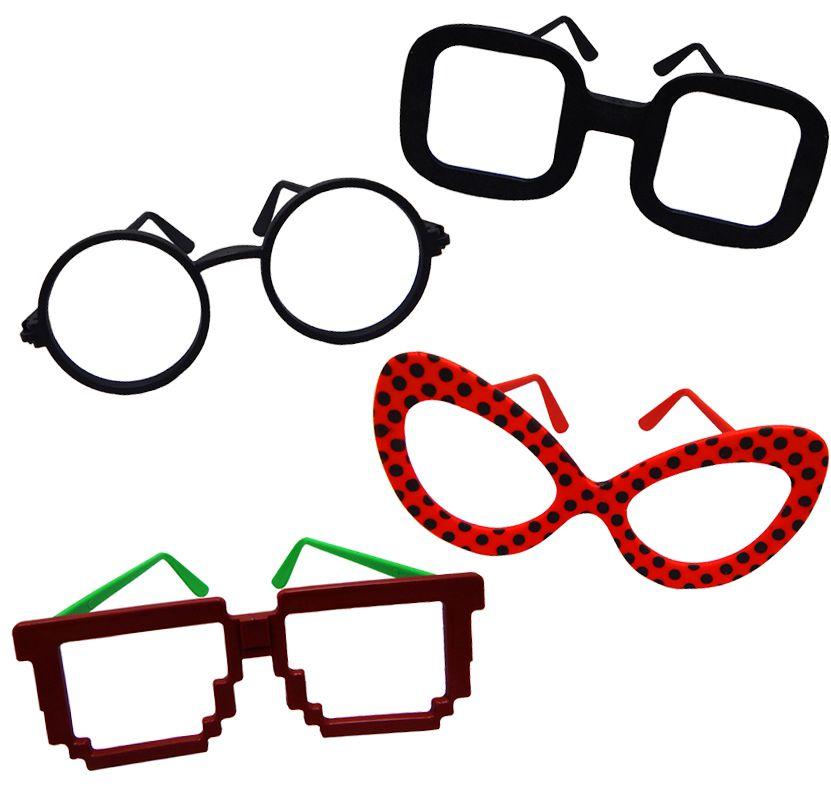 Óculos sem Lente Personagens