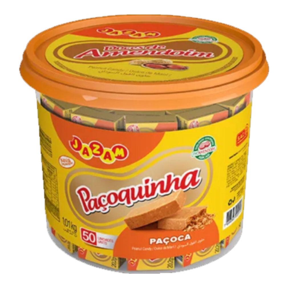 Paçoca de Amendoim Paçoquinha - 1,01kg