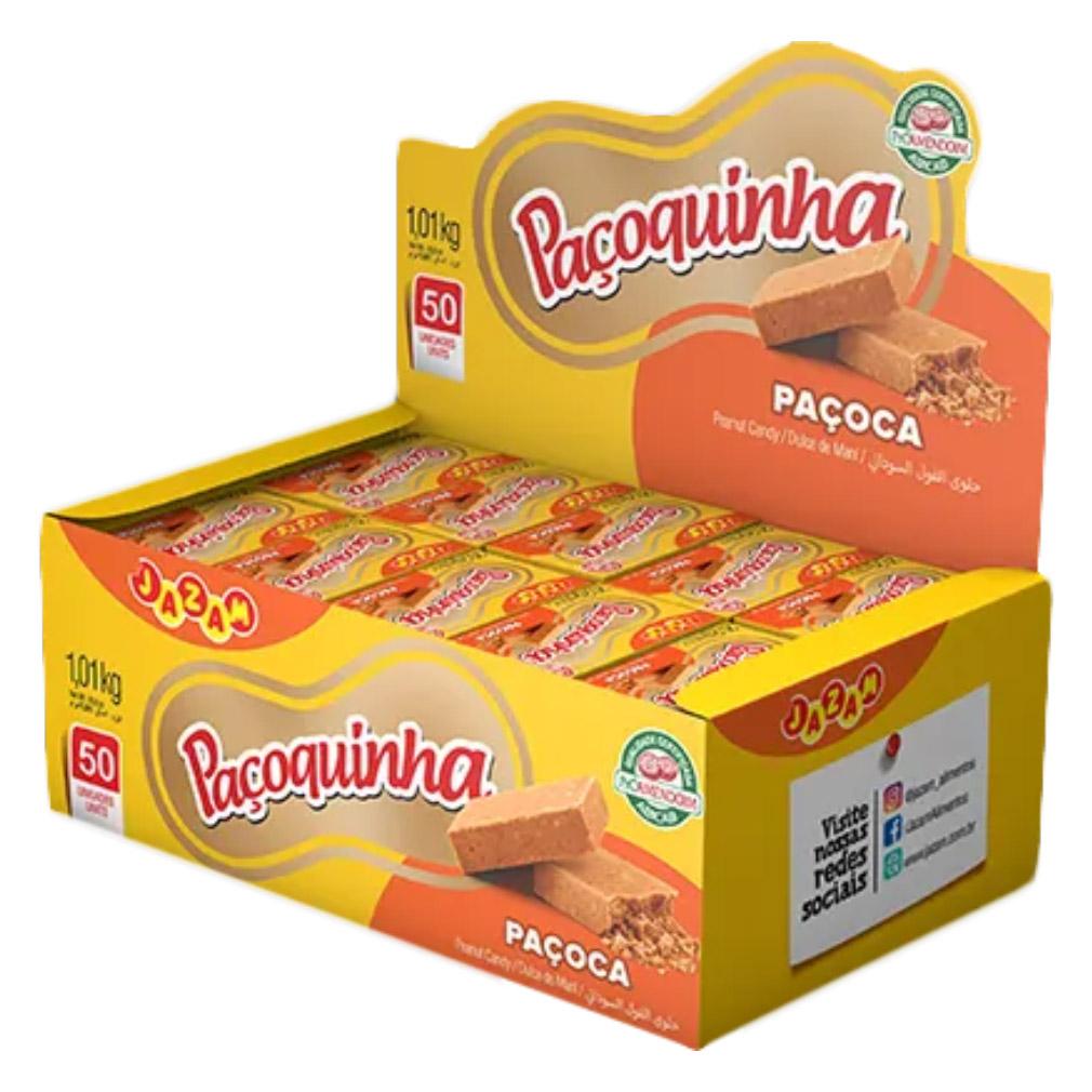 Paçoca de Amendoim Paçoquinha Display - 1,01kg