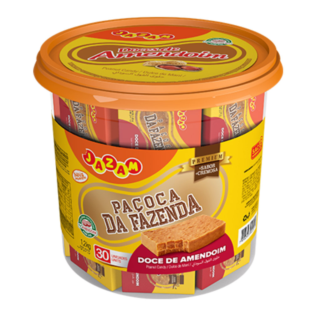 Doce de Amendoim Premium da Fazenda - 1200g