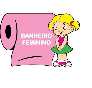 Painel Banheiro Feminino
