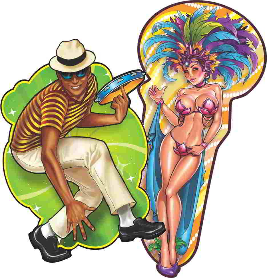 Painel Carnaval Sambista e Passista
