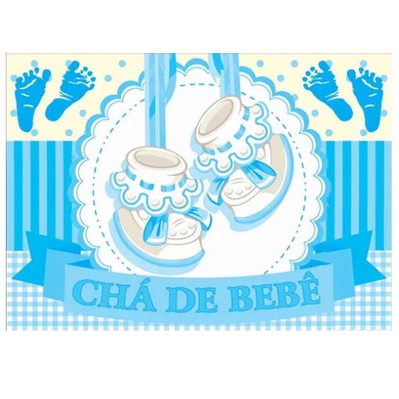 Painel Chá de Bebê Menino TNT