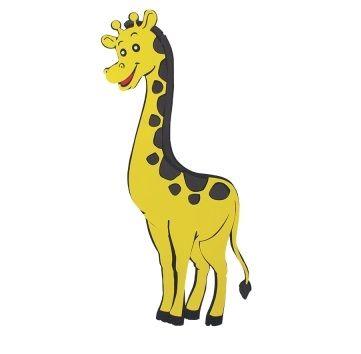 Painel Decorativo Girafa E.V.A - 70cm x 43cm