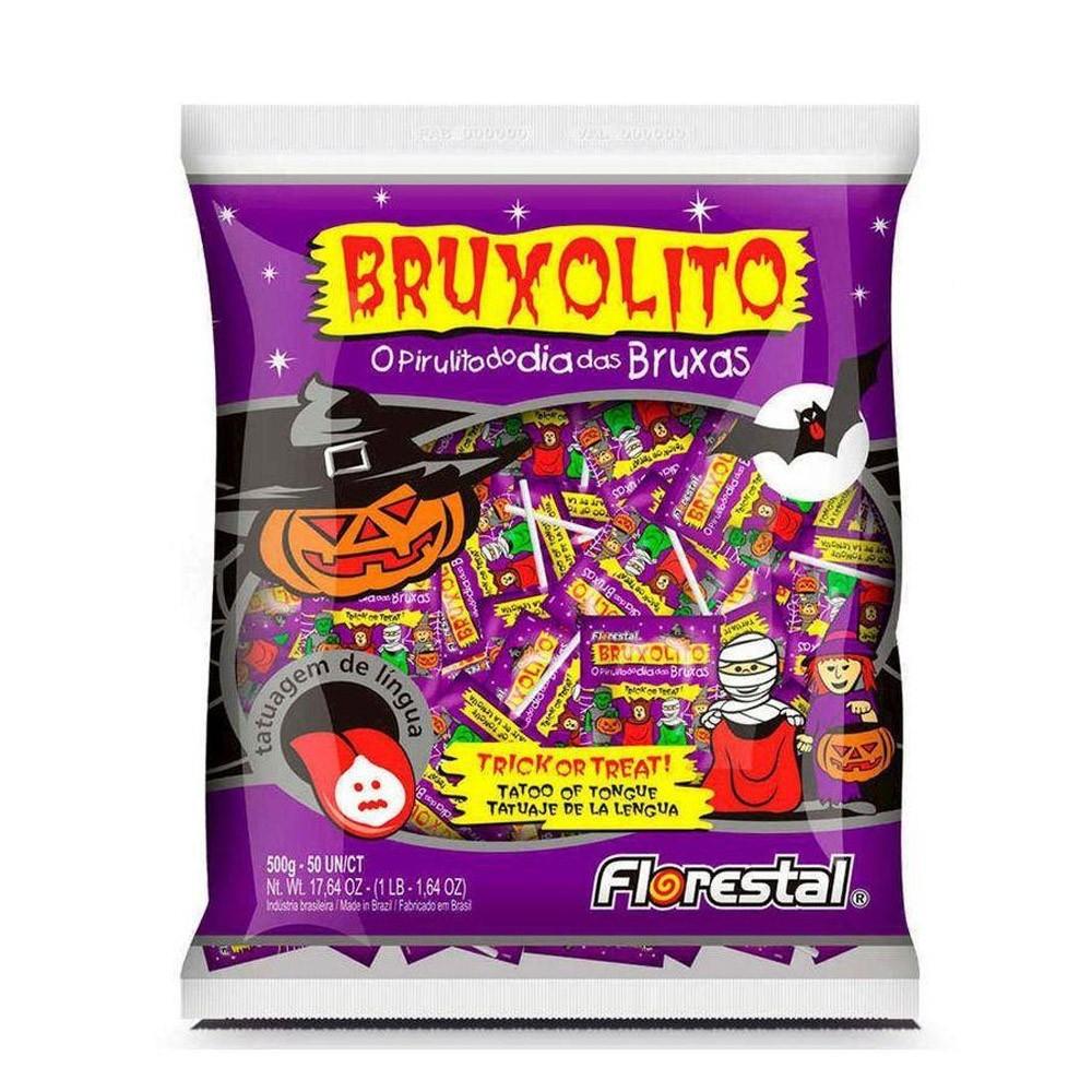 Pirulito Bruxolito Tatuagem - 500g