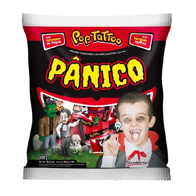 Pirulito Tutti-Frutti Pânico - 400g