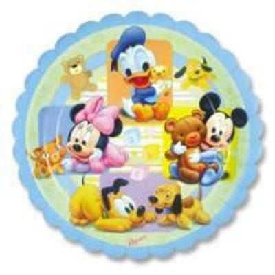 Prato Baby Disney - 8 Unidades
