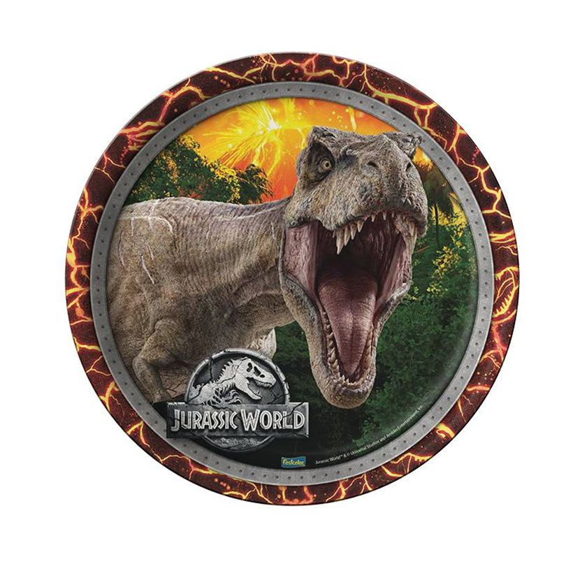 Prato Jurassic World - 8 unidades