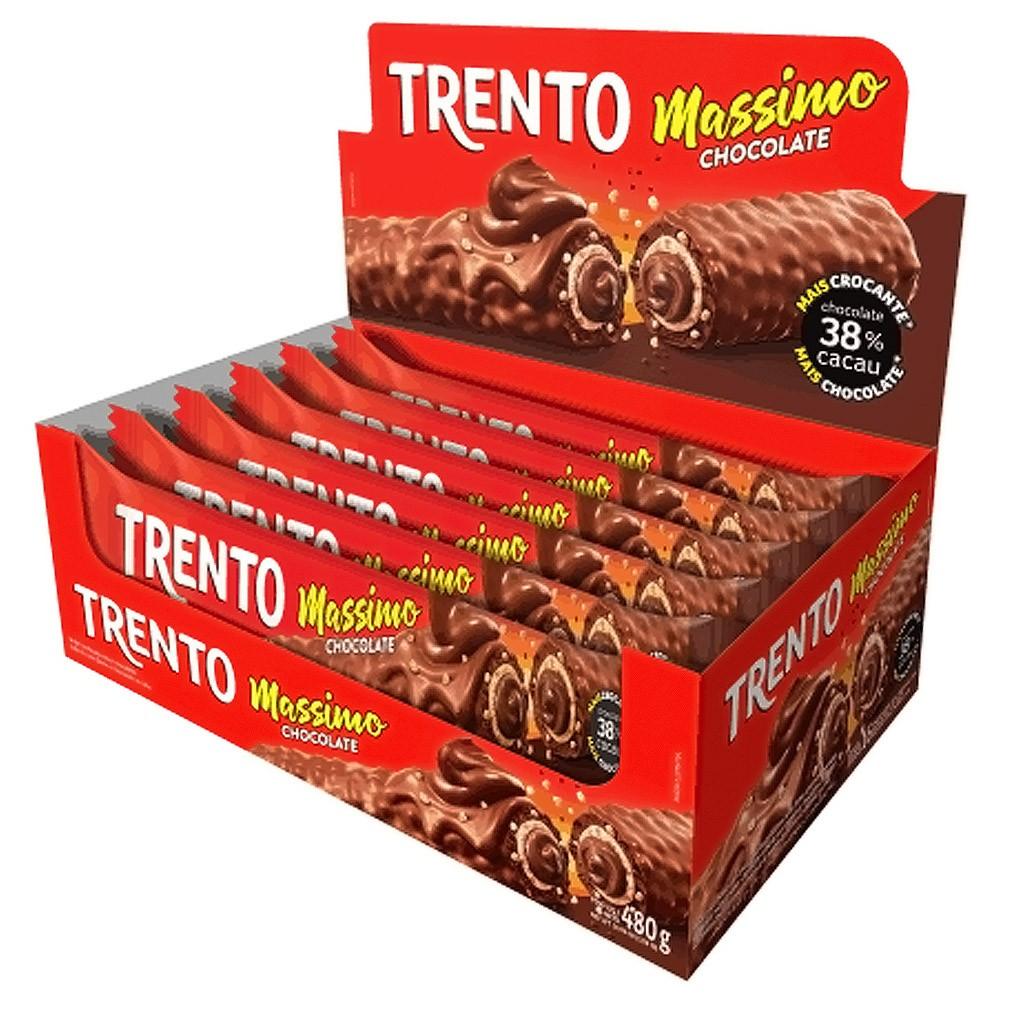 Caixa de Trento Massimo Chocolate - 480g