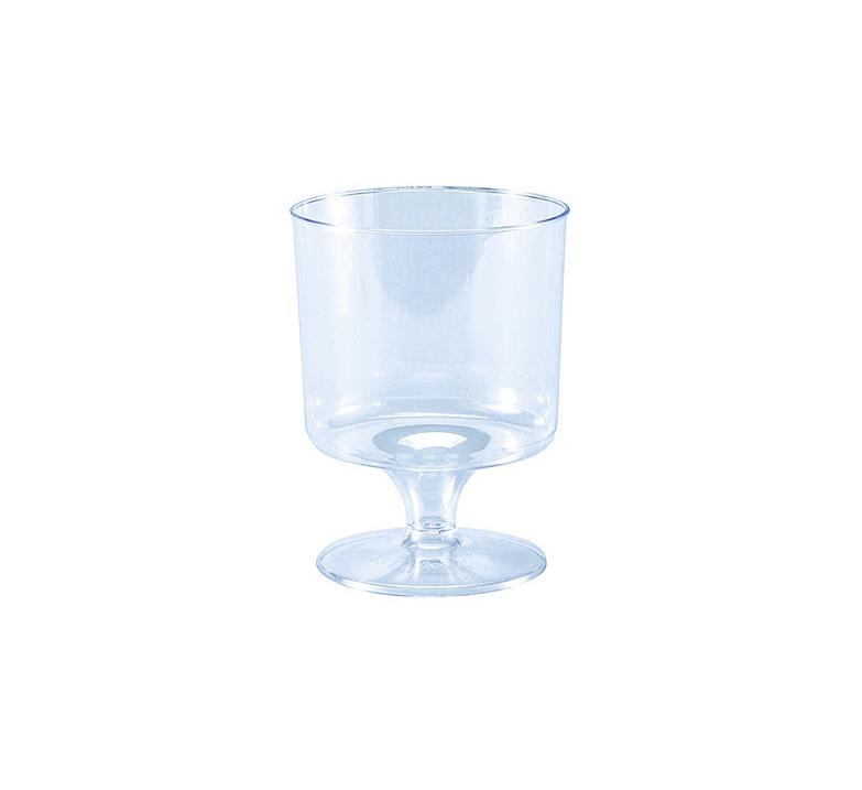 Taca Plast 150ml Vinho - Pacote Com 06 Un