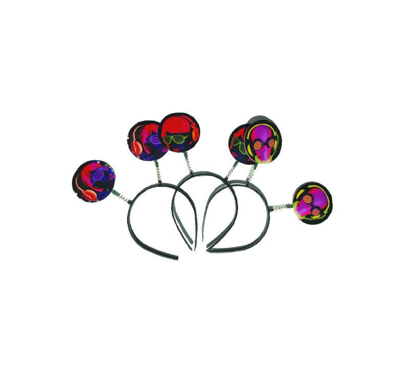 Tiara Neon para Festas - 10 unidades