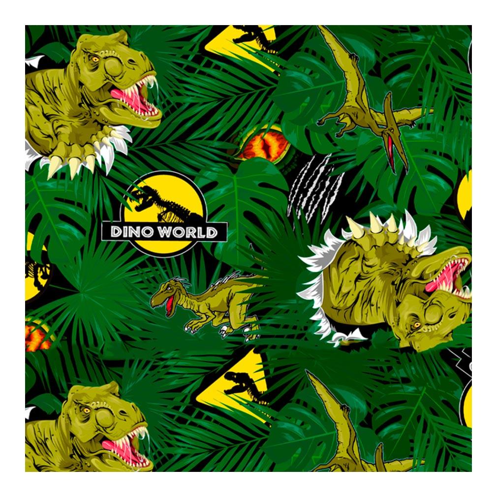 Tnt Estampado Dino World - 5 Metros