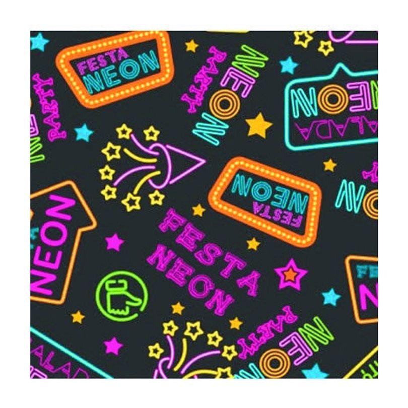 Tnt Estampado Festa Neon - 5 Metros