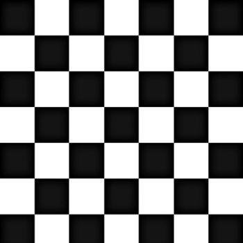 TNT Estampado Quadriculado Preto e Branco - 5 Metros