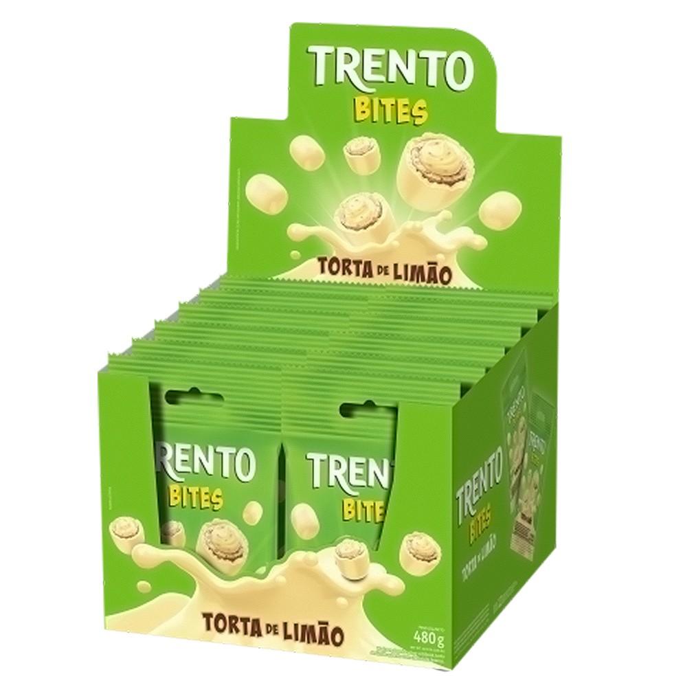 Caixa de Trento Bites Torta de Limão - 480g