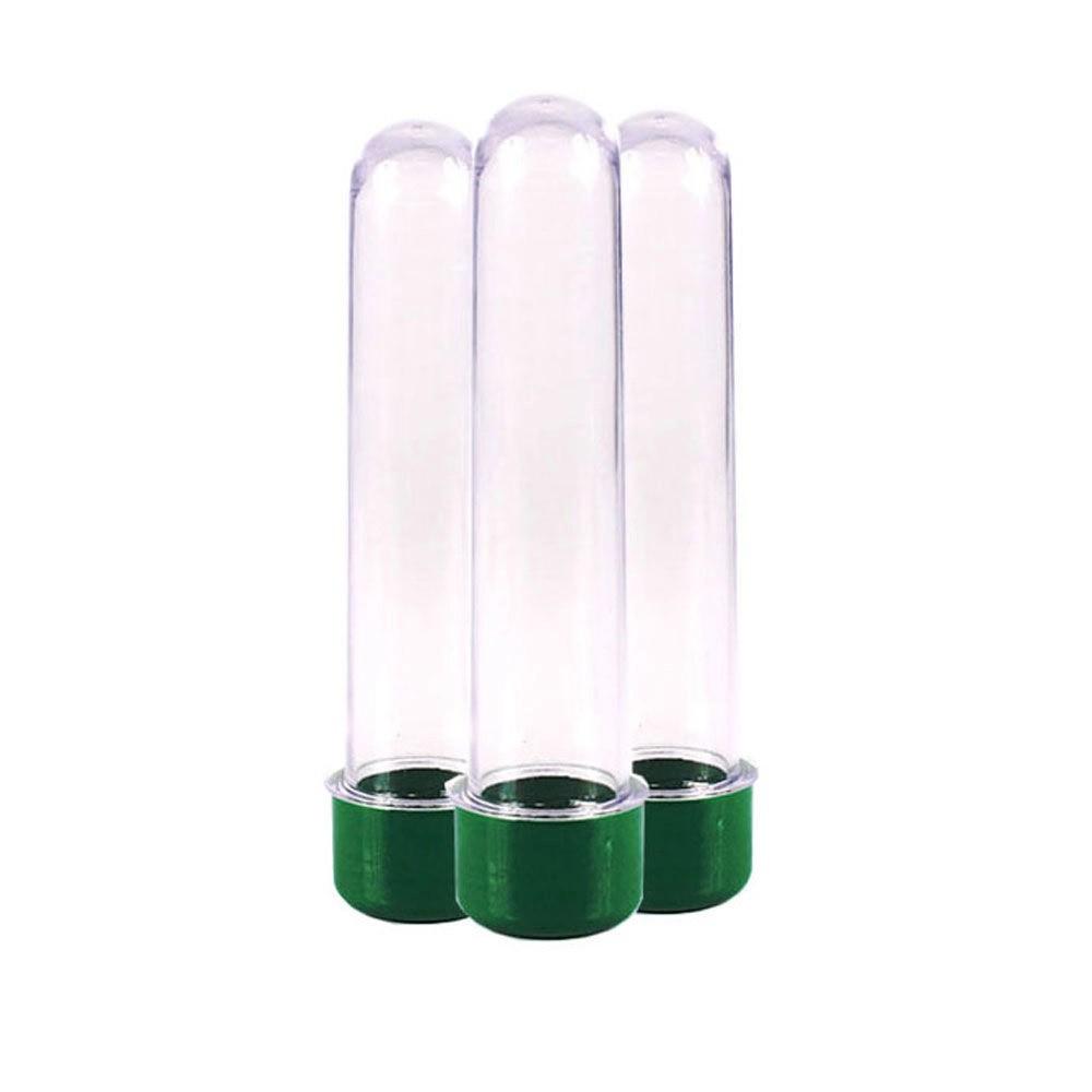 Tubo de Ensaio  verde 13cm - 10 unidades