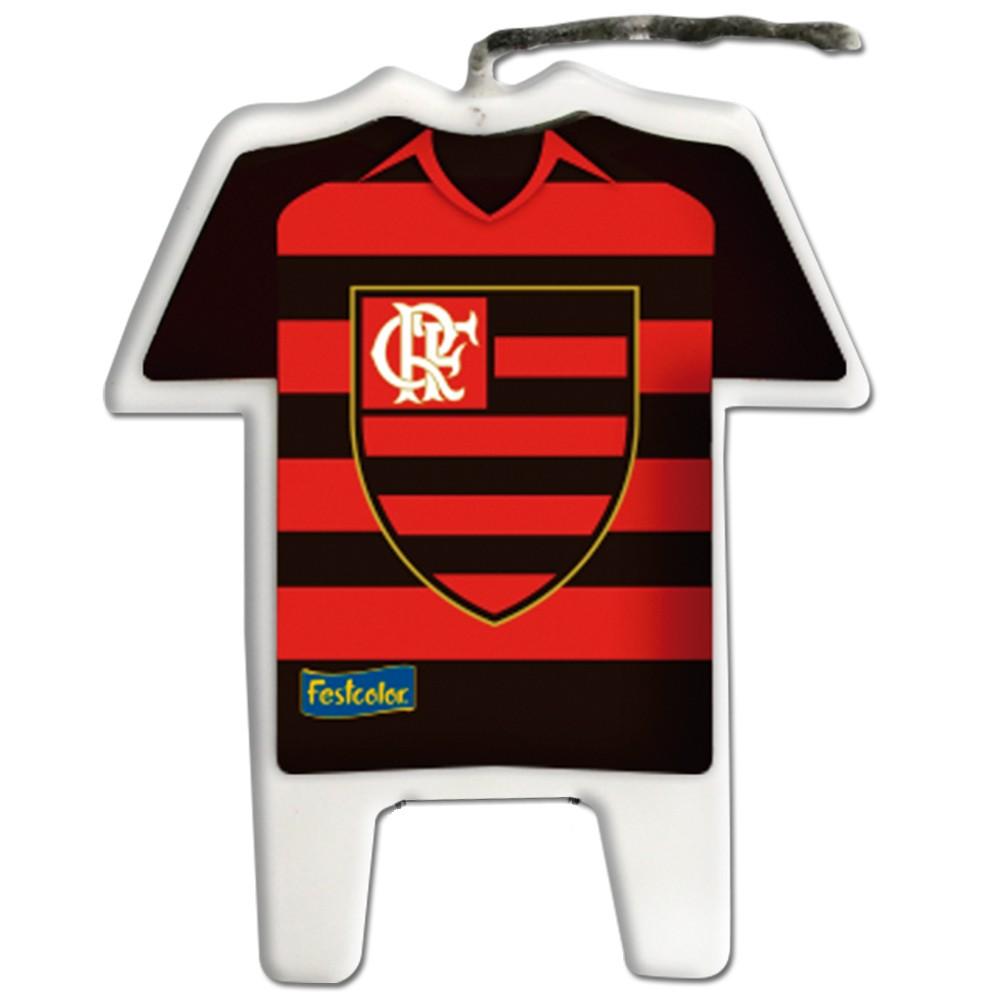 Vela de Aniversário Flamengo