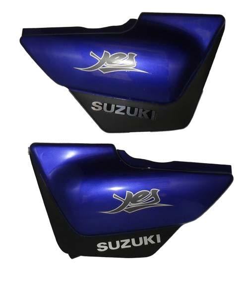 Tampa Lateral Suzuki YES 125 com Faixa - PAR